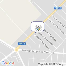 Асоціація фахівців з нерухомості України на мапі