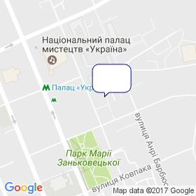 Українська Асоціація виробників сухих будівельних сумішей на мапі