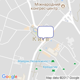 Дельта Проектконсалт Україна на мапі