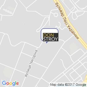 Дон-Строй на мапі