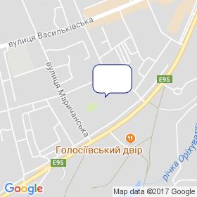ЄВРОТЕХ на мапі