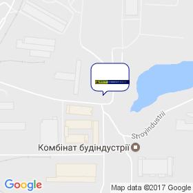 Фагот-Київ-Транзит на мапі