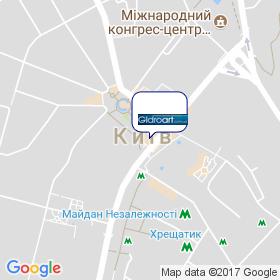 ГідроАрт на мапі