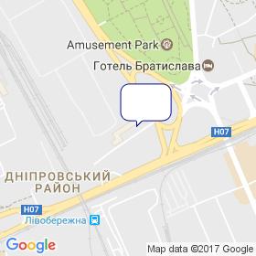 Градострой на мапі