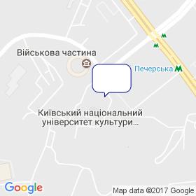 Інтерсевен на мапі