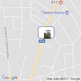 КАН на мапі