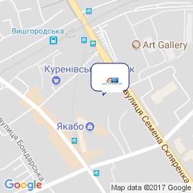 ТФ КАНТ XXI на мапі