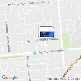 ТОВ ПБК КАСКАД на мапі