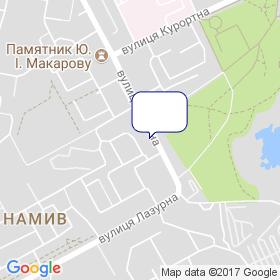 Нікос-Центр на мапі