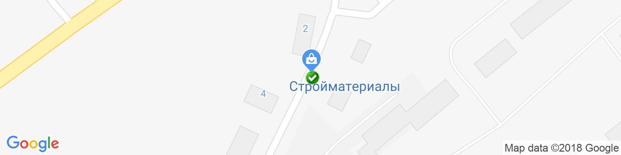 Карта об'єктів компанії ПромЗв'язокСервіс