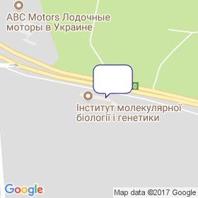 Пронет-Україна на мапі