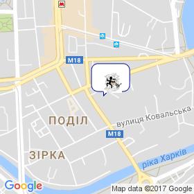 Павук на мапі