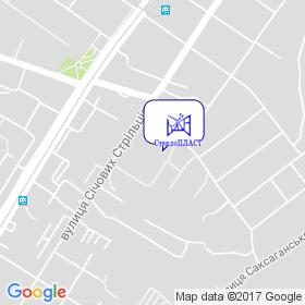 СклоПЛАСТ, НПП на мапі