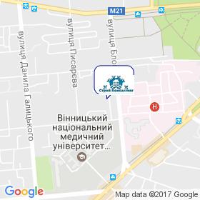 Худякова Людмила Василівна на мапі