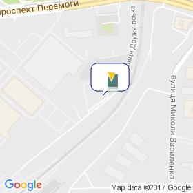 Українська Асоціація Меблевиків на мапі