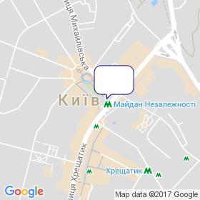 ВК Укрметал Трейд на мапі