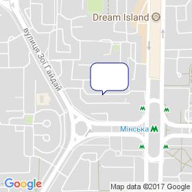WINDOM на мапі