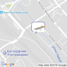 Яременко А.М. на мапі