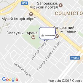 ЗапорожПроект на мапі