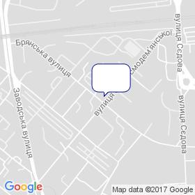 Зябкін на мапі