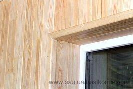 Обшивка балкона деревом цены в києві. купити або замовити ре.