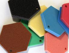 Полиуретановый эластомер для виброизоляции Sylomer SR 11, желтый, рулон 5000 х 1500 х 25 мм