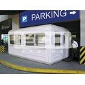 Блокпост Экокабина (ECO кабина) на паркинге