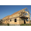 деревянный каркасный дом, таун-хаус