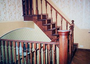 Классическая лестница. — Сiон-будсервіс