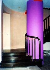 Поворотная лестница, маршевая — Сiон-будсервіс