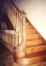 Классическая лестница,прямая. — Сiон-будсервіс