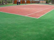 Штучна трава для тенісних кортів та спортивних майданчиків