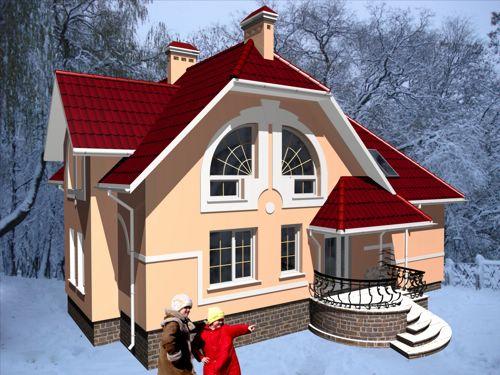 Коттеджей готові проекти будинків