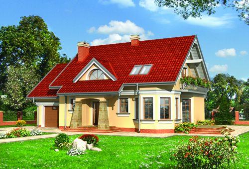 Готові проекти будинків 325 проект 1032