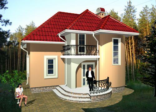 Готові проекти будинків 100 проект 1004